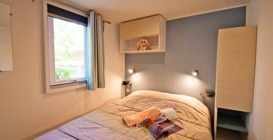 Mobil home 8 chambre parents salisses